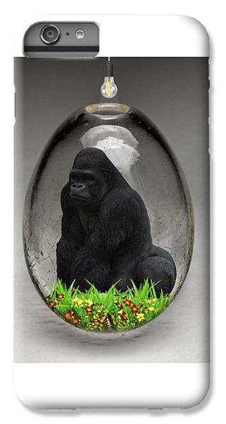 Gorilla Ape Art IPhone 6s Plus Case