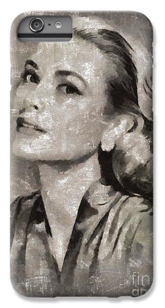 Grace Kelly iPhone 6s Plus Case - Grace Kelly By Mary Bassett by Mary Bassett