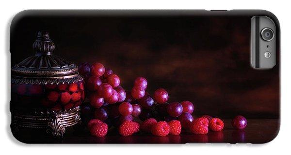 Grape Raspberry IPhone 6s Plus Case by Tom Mc Nemar