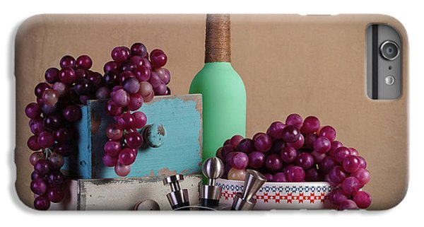 Grapes With Wine Stoppers IPhone 6s Plus Case by Tom Mc Nemar