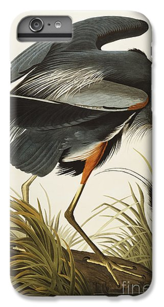 Animals iPhone 6s Plus Case - Great Blue Heron by John James Audubon