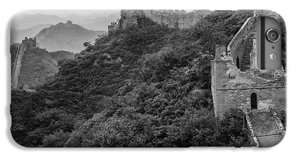 IPhone 6s Plus Case featuring the photograph Great Wall 3, Jinshanling, 2016 by Hitendra SINKAR