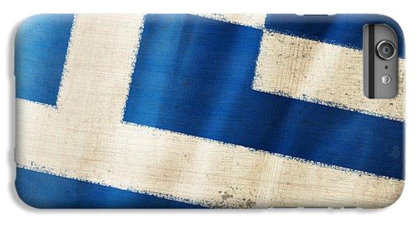 Greece iPhone 6s Plus Case - Greece Flag by Setsiri Silapasuwanchai