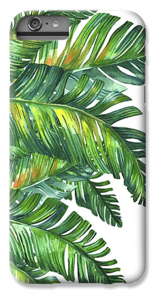 Fantasy iPhone 6s Plus Case - Green Tropic  by Mark Ashkenazi
