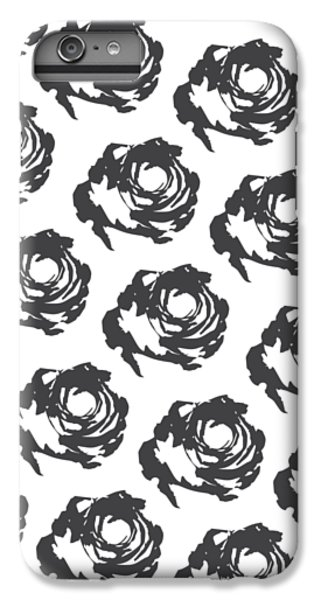 Grey Roses IPhone 6s Plus Case by Cortney Herron