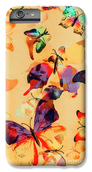 Group Of Butterflies With Colorful Wings IPhone 6s Plus Case