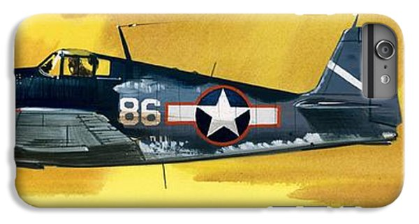 Airplane iPhone 6s Plus Case - Grumman F6f-3 Hellcat by Wilf Hardy