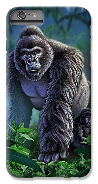 Gorilla iPhone 6s Plus Case - Guardian by Jerry LoFaro