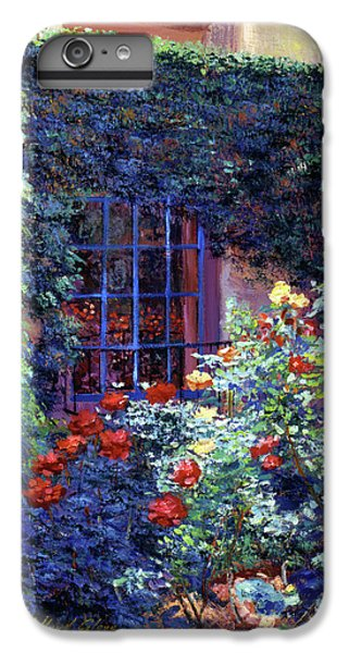 Beverly Hills iPhone 6s Plus Case - Guesthouse Rose Garden by David Lloyd Glover