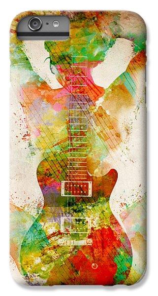 Hot iPhone 6s Plus Case - Guitar Siren by Nikki Smith