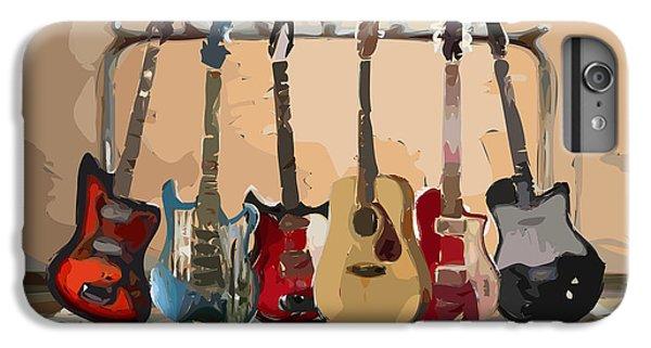 Guitars On A Rack IPhone 6s Plus Case
