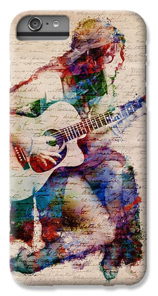 Rock And Roll iPhone 6s Plus Case - Gypsy Serenade by Nikki Smith