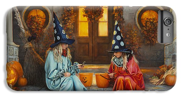 Halloween Sweetness IPhone 6s Plus Case by Greg Olsen