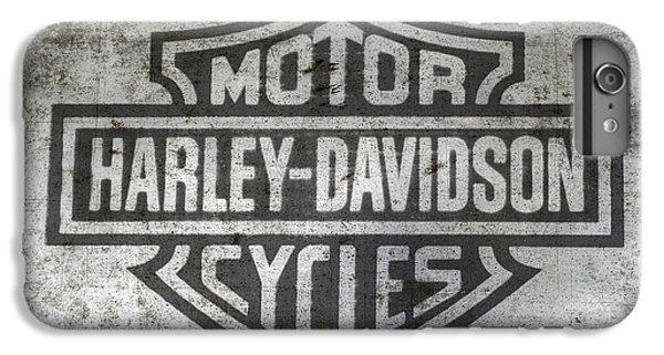 Harley Davidson Logo On Metal IPhone 6s Plus Case