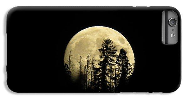 Harvest Moon IPhone 6s Plus Case by Karen Shackles