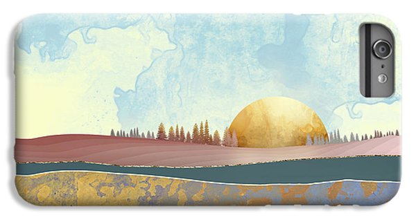 Landscapes iPhone 6s Plus Case - Hazy Afternoon by Katherine Smit