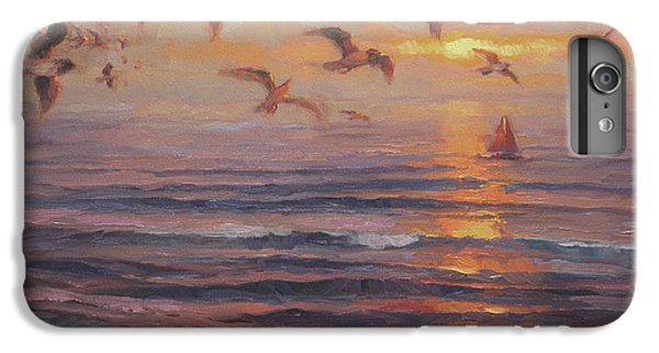 Seagull iPhone 6s Plus Case - Heading Home by Steve Henderson