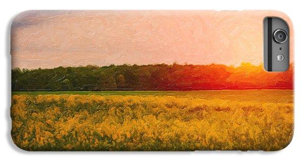 Rural Scenes iPhone 6s Plus Case - Heartland Glow by Tom Mc Nemar