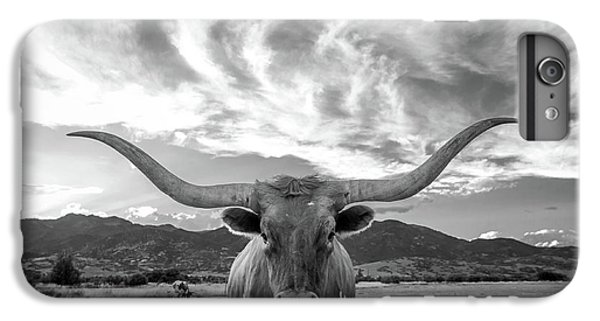 Cow iPhone 6s Plus Case - Heber Valley Longhorn by Johnny Adolphson