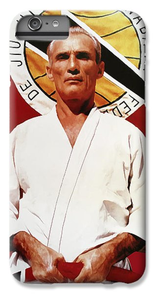 Fitness iPhone 6s Plus Case - Helio Gracie - Famed Brazilian Jiu-jitsu Grandmaster by Daniel Hagerman