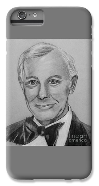 Johnny Carson iPhone 6s Plus Case - Here's Johnny by Sharon Ackley