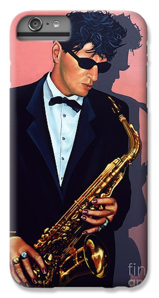 Saxophone iPhone 6s Plus Case - Herman Brood by Paul Meijering