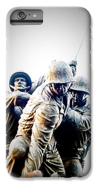 Washington D.c iPhone 6s Plus Case - Heroes by Julie Niemela
