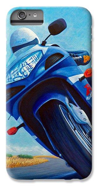 High Desert Pass - Suzuki Gsxr1000 IPhone 6s Plus Case by Brian  Commerford