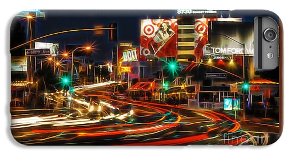 Hollywood Sunset Strip IPhone 6s Plus Case