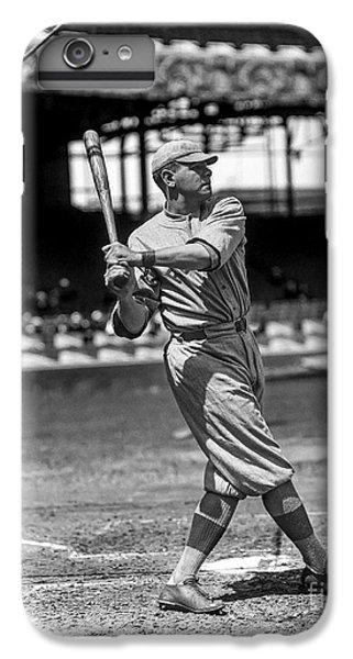 Babe Ruth iPhone 6s Plus Case - Home Run Babe Ruth by Jon Neidert
