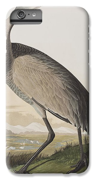 Hooping Crane IPhone 6s Plus Case by John James Audubon