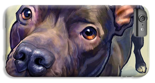 Dog iPhone 6s Plus Case - Hope by Sean ODaniels