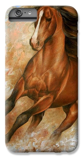 Animals iPhone 6s Plus Case - Horse1 by Arthur Braginsky