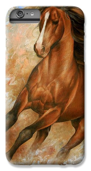 Horse iPhone 6s Plus Case - Horse1 by Arthur Braginsky
