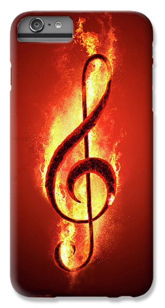 Hot iPhone 6s Plus Case - Hot Music by Johan Swanepoel