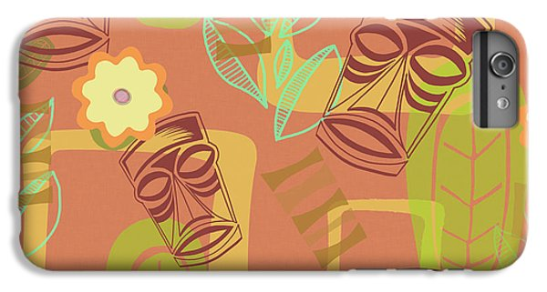 Bar iPhone 6s Plus Case - Hour At The Tiki Room by Little Bunny Sunshine