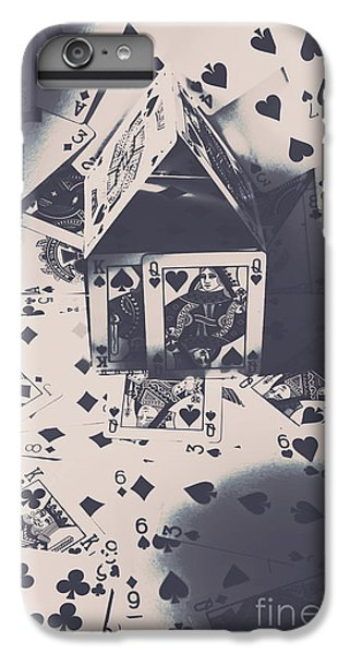 IPhone 6s Plus Case featuring the photograph House Of Cards by Jorgo Photography - Wall Art Gallery