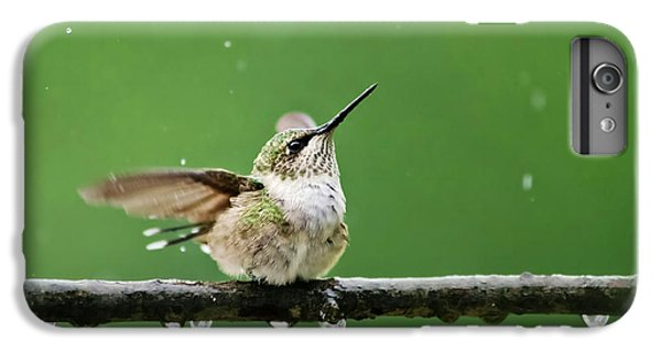 Hummingbird In The Rain IPhone 6s Plus Case