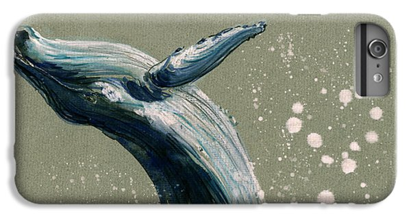Humpback Whale Swimming IPhone 6s Plus Case