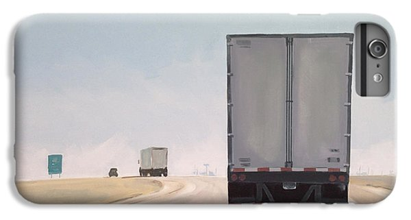 Truck iPhone 6s Plus Case - I-55 North 9am by Jeffrey Bess