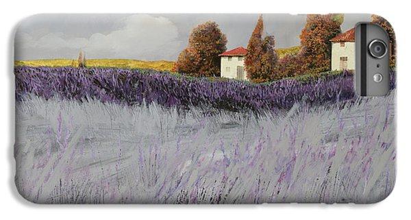 Rural Scenes iPhone 6s Plus Case - I Campi Di Lavanda by Guido Borelli