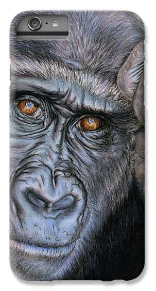 Gorilla iPhone 6s Plus Case - I Think Therefore I Am by Sarah Batalka