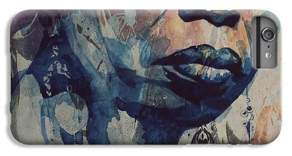 Rhythm And Blues iPhone 6s Plus Case - I Wish I Knew How It Would Be  Feel To Be Free by Paul Lovering