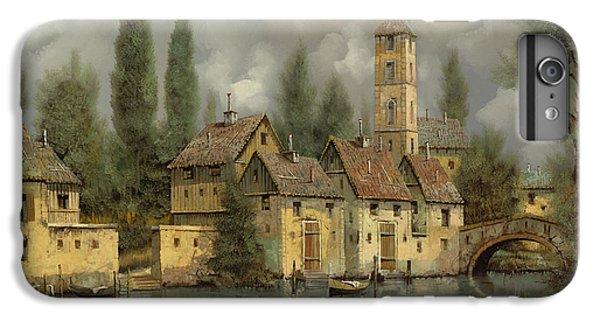 Landscape iPhone 6s Plus Case - Il Borgo Sul Fiume by Guido Borelli