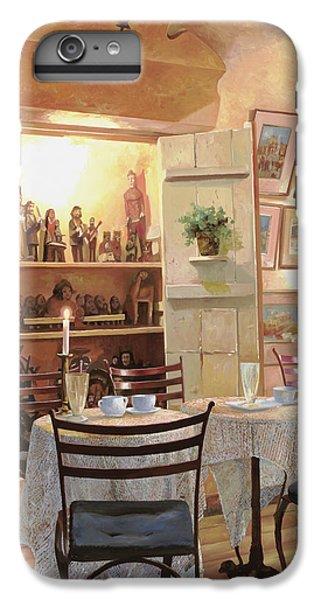 Bar iPhone 6s Plus Case - Il Caffe Dell'armadio by Guido Borelli