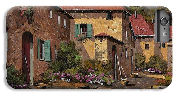 Rural Scenes iPhone 6s Plus Case - Il Carretto by Guido Borelli