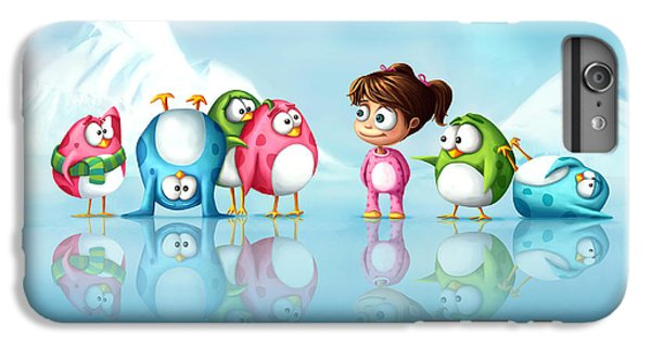 Im A Penguin Too IPhone 6s Plus Case by Tooshtoosh