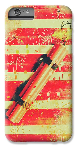 Explosion iPhone 6s Plus Case - Impact Blast by Jorgo Photography - Wall Art Gallery