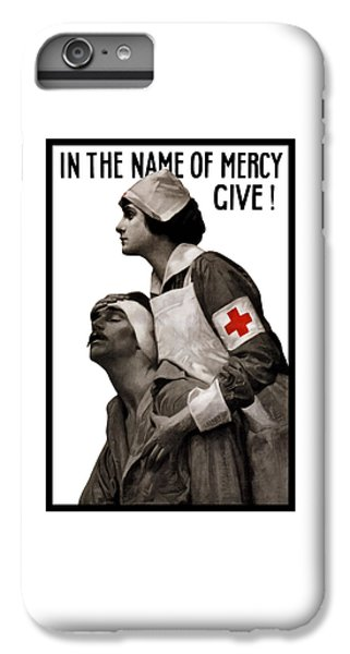 Nurse Shark iPhone 6s Plus Case - In The Name Of Mercy Give by War Is Hell Store