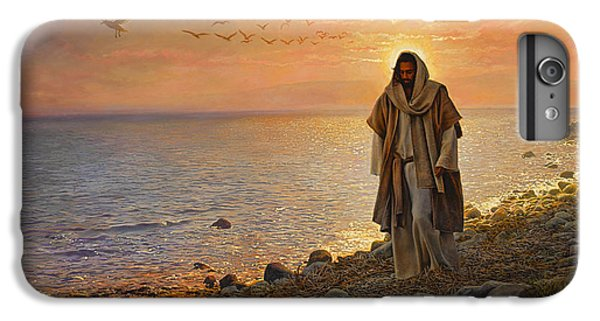 iPhone 6s Plus Case - In The World Not Of The World by Greg Olsen